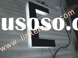 Backlit Led channel letter with high quality