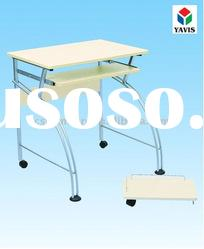 Best price! computer table with white MDF table top YS-2152-18