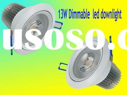 COB high power led downlight 13w with CE ROHS