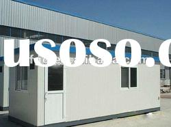 China high quality steel mobile prefabricated house for coffee shop