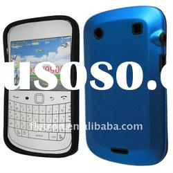 Dark Blue Aluminum Metal Silicone Hard Case cover for BlackBerry Bold 9900 9930