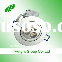 Dimmable Aluminum High Efficiency 3W LED Down Light Factory Price