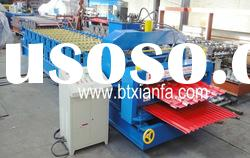 Double layer color steel tile roll forming machine XF25/18