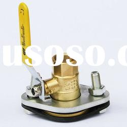 Flandged Brass Ball Valve (Female Thread)