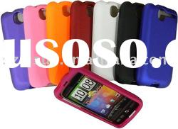 For HTC Front and Back Cover Case (rubber coating)