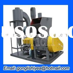 GL 600 plastic waste recycling machine, copper meters from wire and cable recycle machine