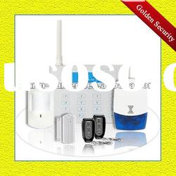 GSM wireless home security alarm system with SMS auto dial use simcard