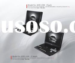 HIGH QUALITY 15INCHES PORTABLE DVD PLAYER(KSD-1588)