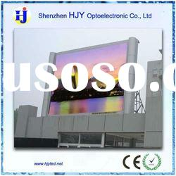 HJY full color outdoor advertising led display 10mm