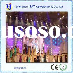 HJY indoor full color stage display curtain display