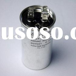 High quality electric motor parts capacitors CBB65/CBB61/CBB60