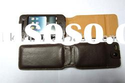 High quality leather case for 4G iphone