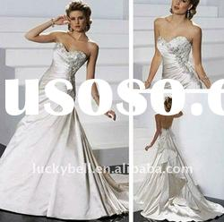Hot sale New Sweetheart Train Wedding dress