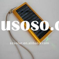 Hot solar charger for mobile phone