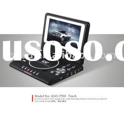 KSD-7588 7inch hot-selling mini portable DVD player
