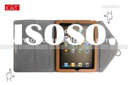 Leather Envelope Case Bag Pouch For iPad 1 and iPad 2 brown