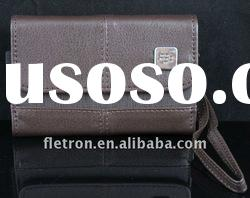 New Brown Leather Case Pouch For Blackberry Torch 9000