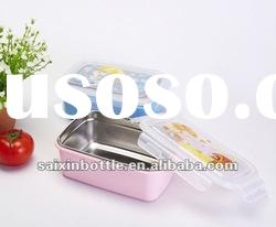 New design stainless steel lunch box food container