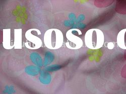 Printed Suede Fabric / Suede fabric / Polyester fabric