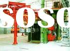 Q58 piled and released type sand blasting machinery
