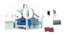 QT10-15 fully-automatic Concrete Brick Making Machine