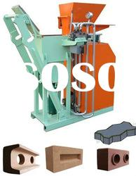 SY1-25 hydraulic manual operated concrete block making machine