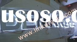 Stainless steel led channel letter sign