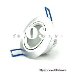 Warm white dimmable LED Down light