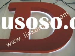 backlit LED channel letter