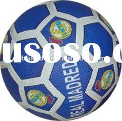 cheap pebble surface rubber soccer ball