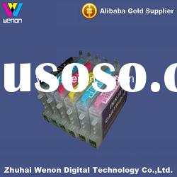ciss printing ink cartridge for epson R300/R300M 6 color inkjet ink cartridge