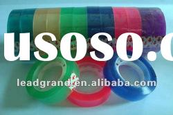 colored stationery adhesive tape