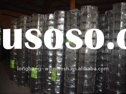 factory supply high quality electro galvanized welded mesh