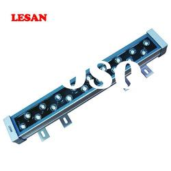 high lumens ip65 dmx512 rgb high power outdoor led linear wall washer light