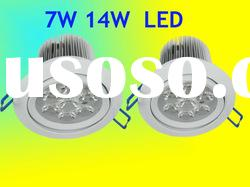 high power cob led down light adjustable Ce ROHS round