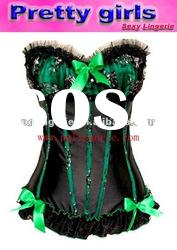 in stock, women lingerie corset m1888d
