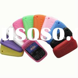 latest design silicone cell phone case for blackberry 8520