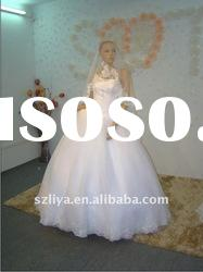 real products picture off-shoulder lace beaded wedding gowns