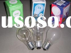 sell 60W comon light bulbs(clear&frosted)