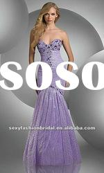 stunning sweetheart neckline beads diamond accented fitting bodice mermaid prom dresses