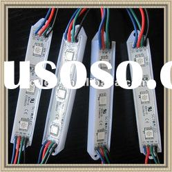 super bright smd 5050 waterproof rgb led module(SCT-M-33)