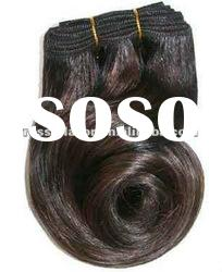unprocessed natural wave natural color top quality peruvian human hair