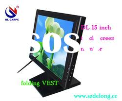 1 year warranty 15 inch LCD touch monitor with VGA signal