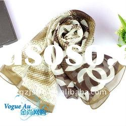 2011 Hot sale brand name logo india scarfs/cooling scarf/scarfs and stoles