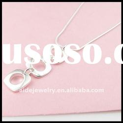 2011 Hot-selling Fashion Hoop Charm Necklace