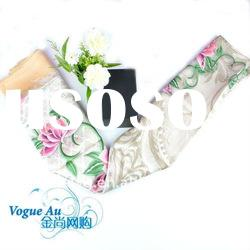 2011 new arrival brandname new style real silk colorful long scarf