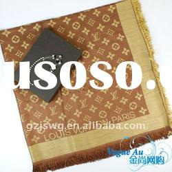 2011 new arrival hot sale lady design scarf /real silk scarf/ long Shawl Pashmina