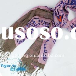 2011 newest arrival fashion cotton scarf /real silk scarf/ skull scarf