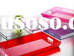 2012NEW HOT SALE clear acrylic trays