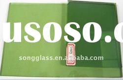 4mm 6mm Dark Green Reflective Float Glass